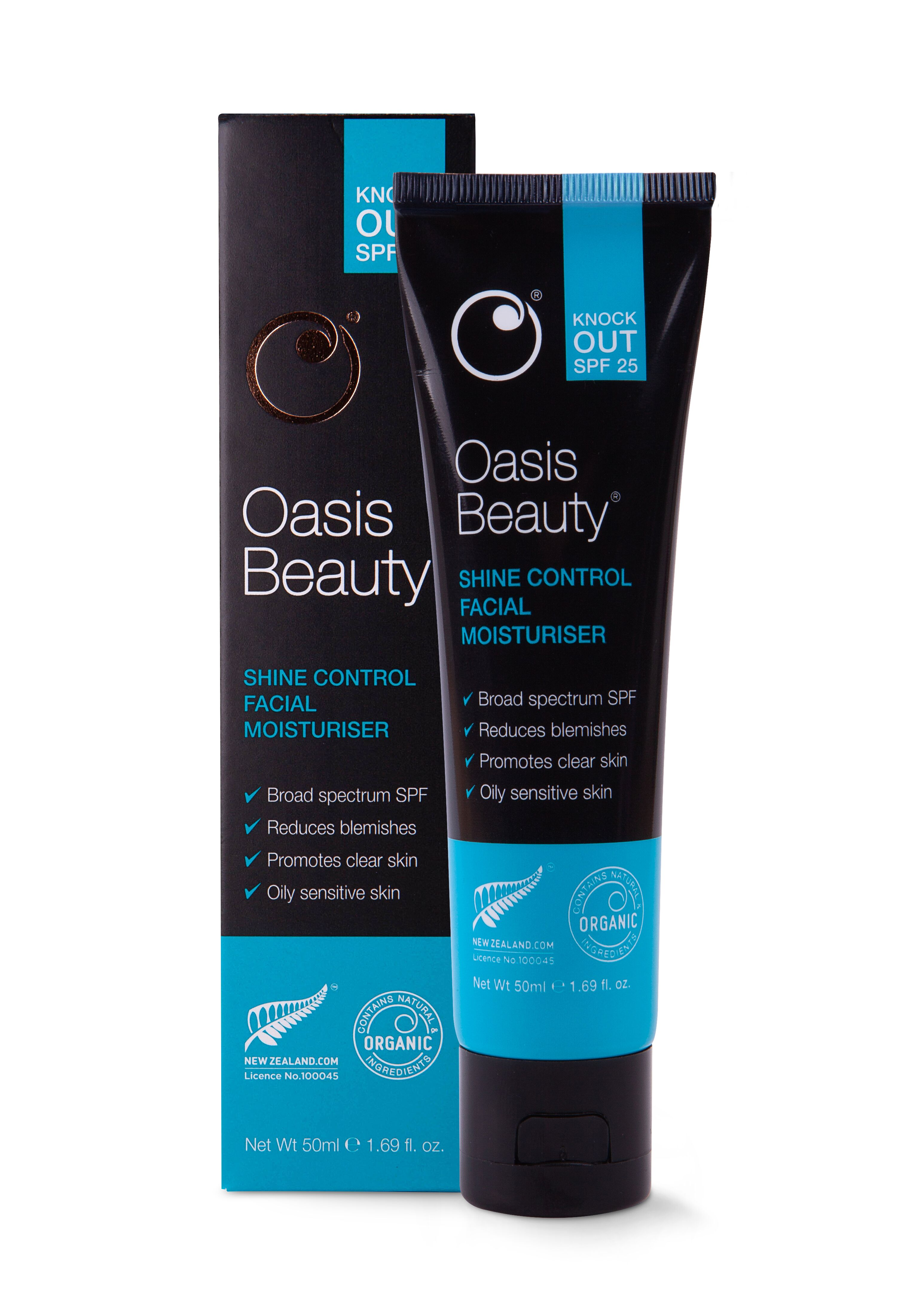 Oasis Beauty - 'Knock-Out' SPF25 Shine Control Facial Moisturiser