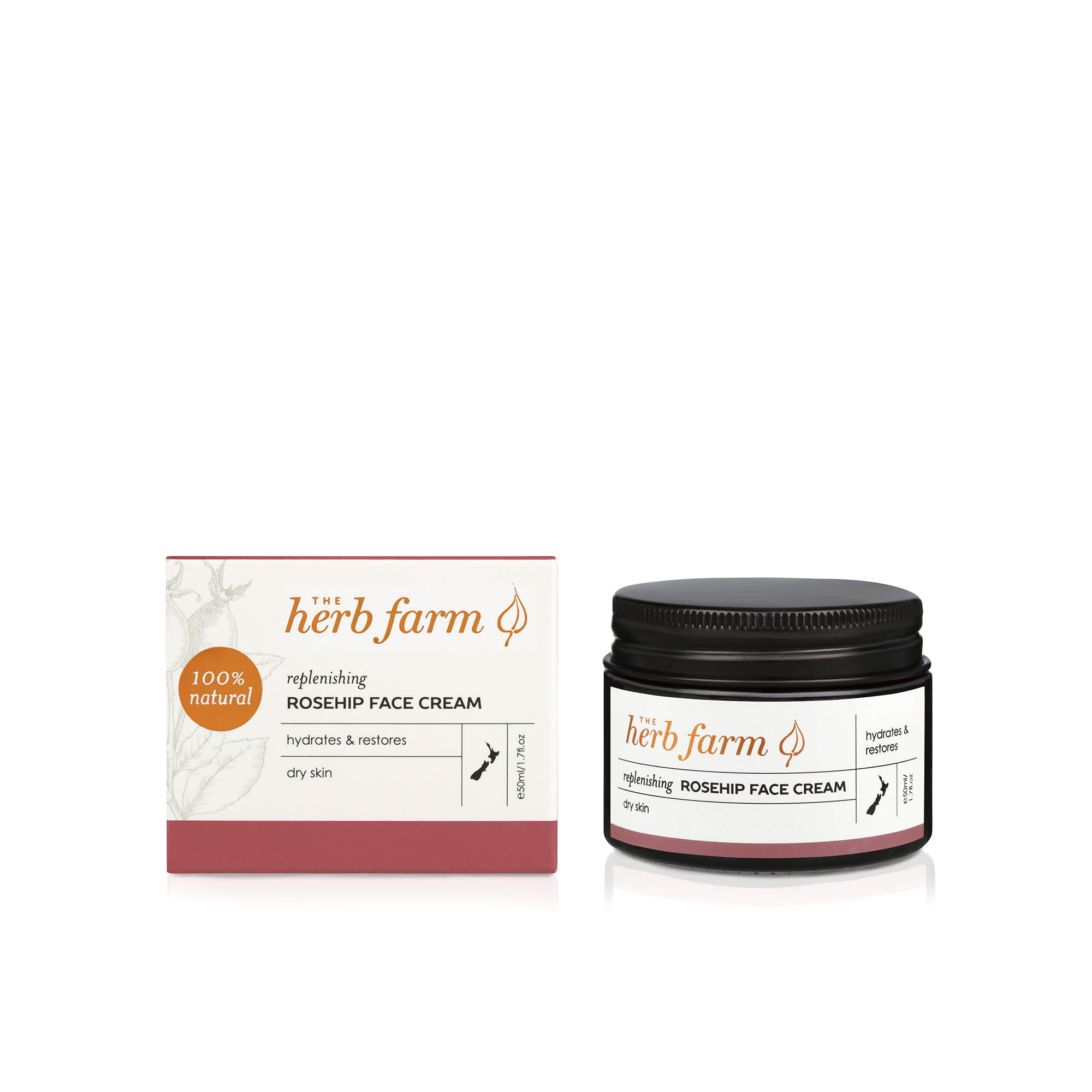 The Herb Farm Replenishing Rosehip Face Cream