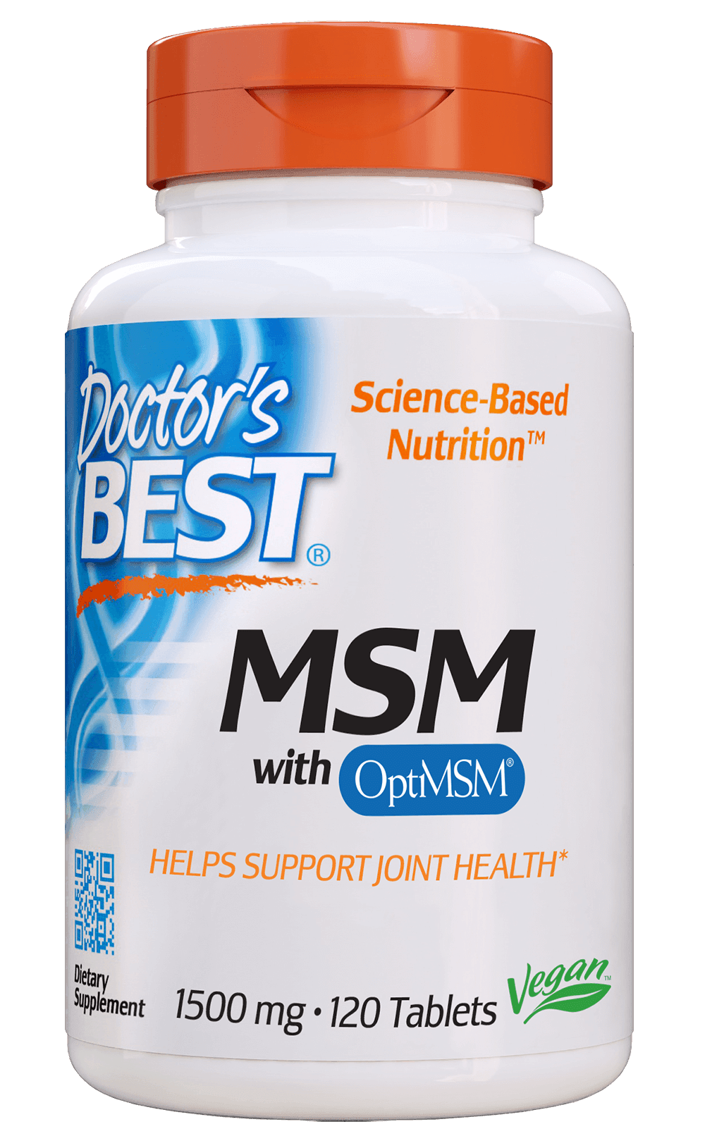 Doctor's Best - MSM 1500mg