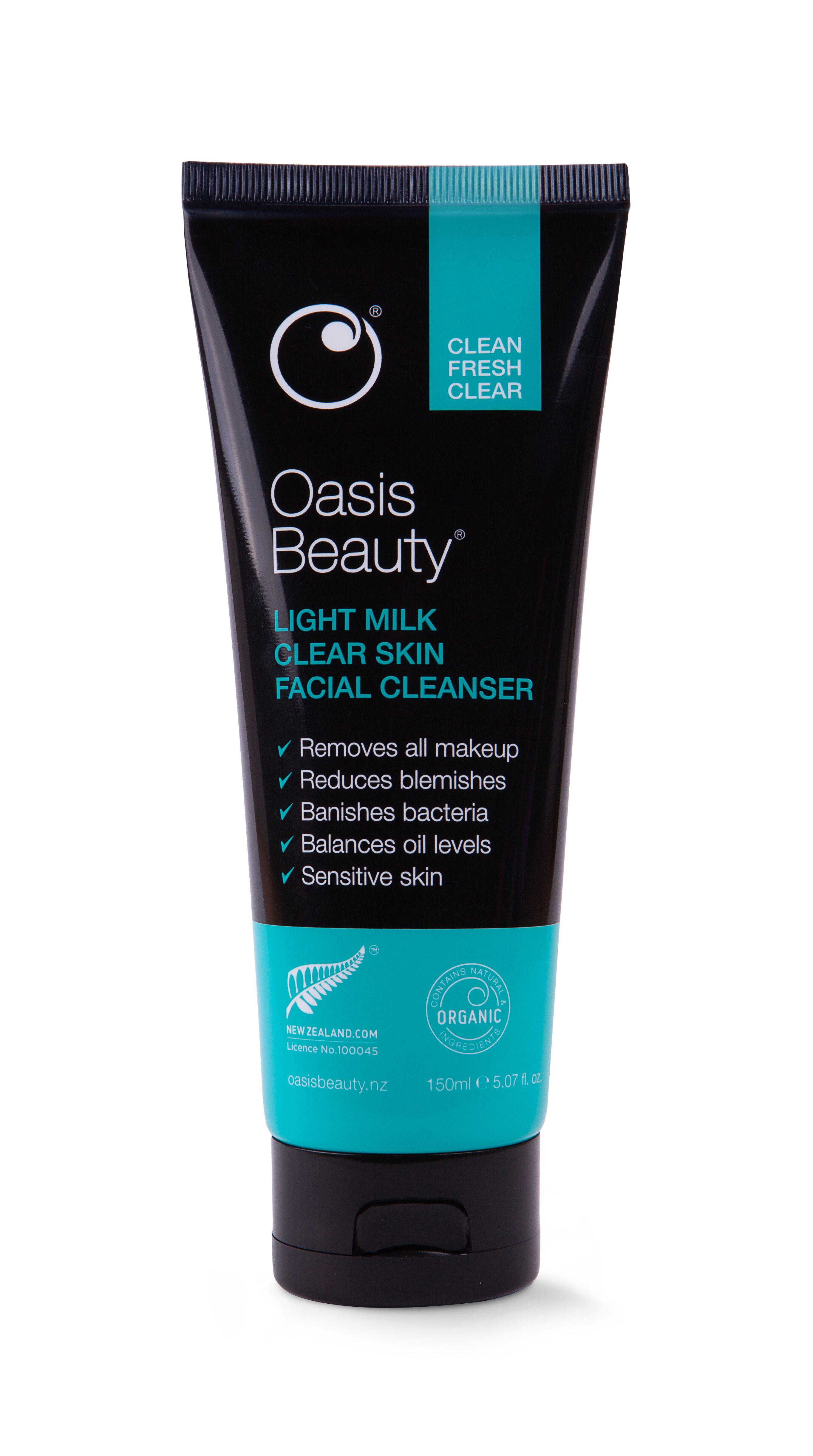 Oasis Beauty - Light Milk Clear Skin Facial Cleanser