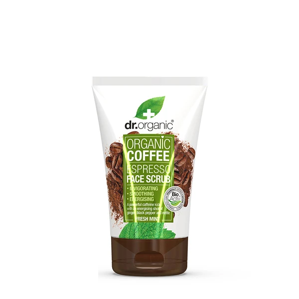 Dr.Organic Coffee Mint Face Scrub