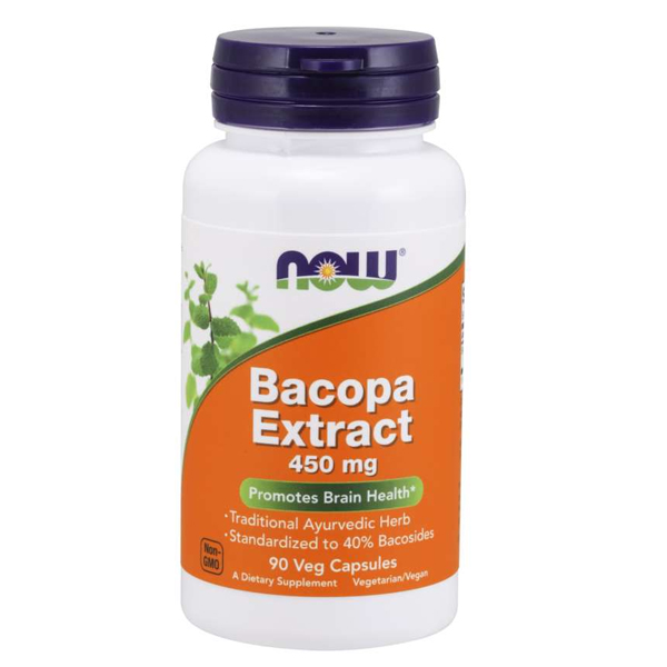 NOW Bacopa Extract 450mg