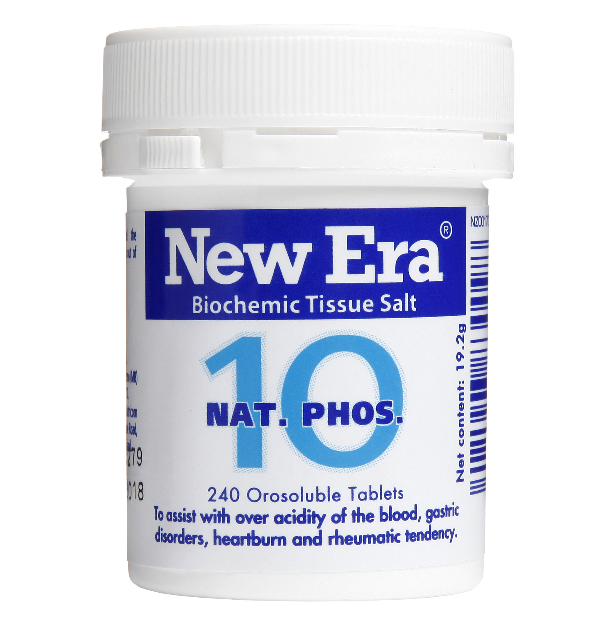 New Era No 10 Nat Phos Mineral Cell Salt