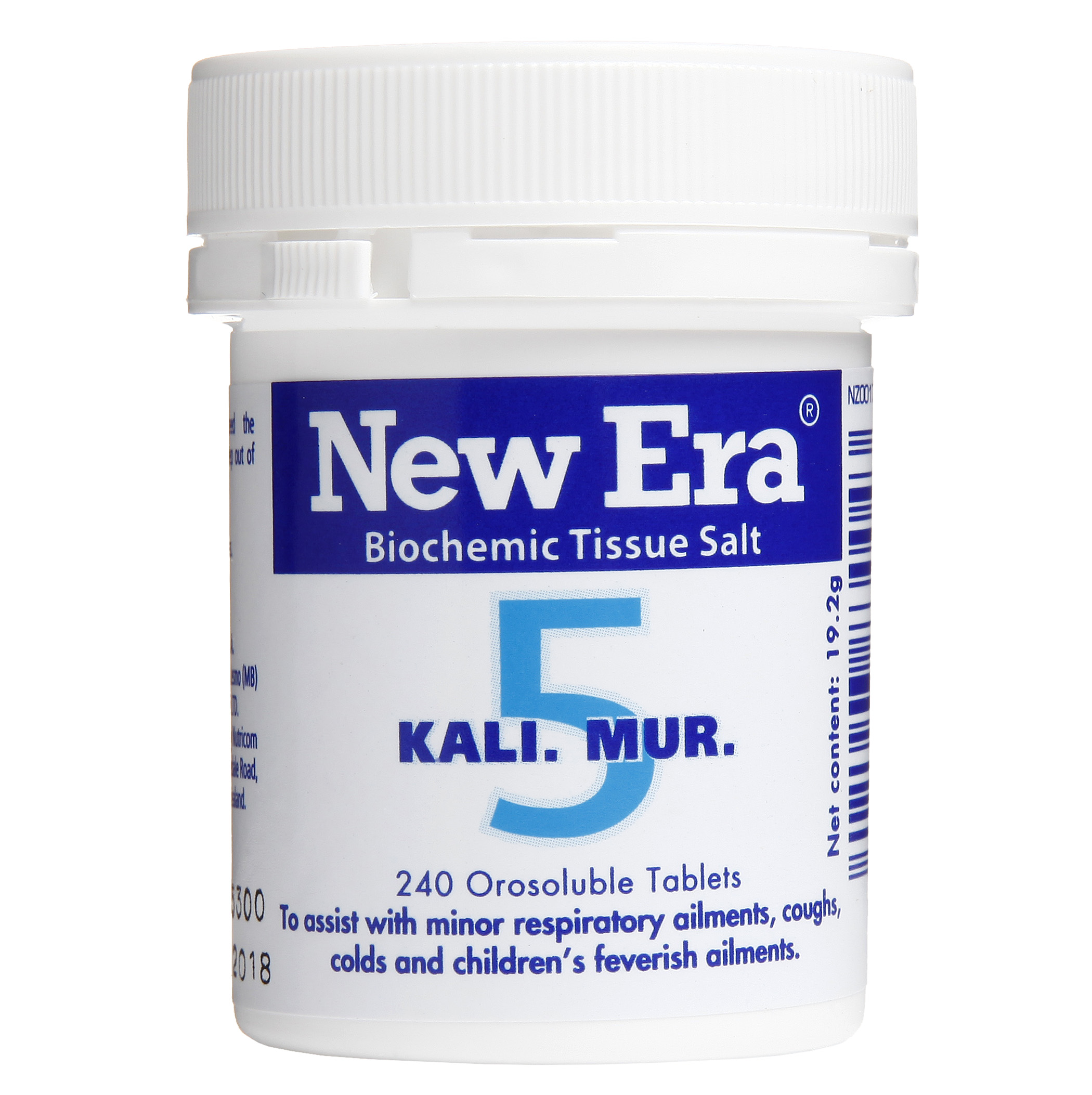 New Era No 5 Kali Mur Mineral Cell Salt