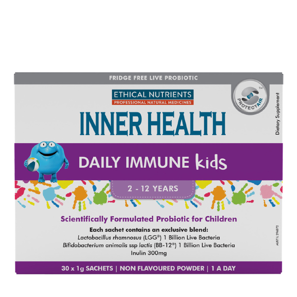 [CLEARANCE] Ethical Nutrients INNER HEALTH Daily Immune Kids Sachets