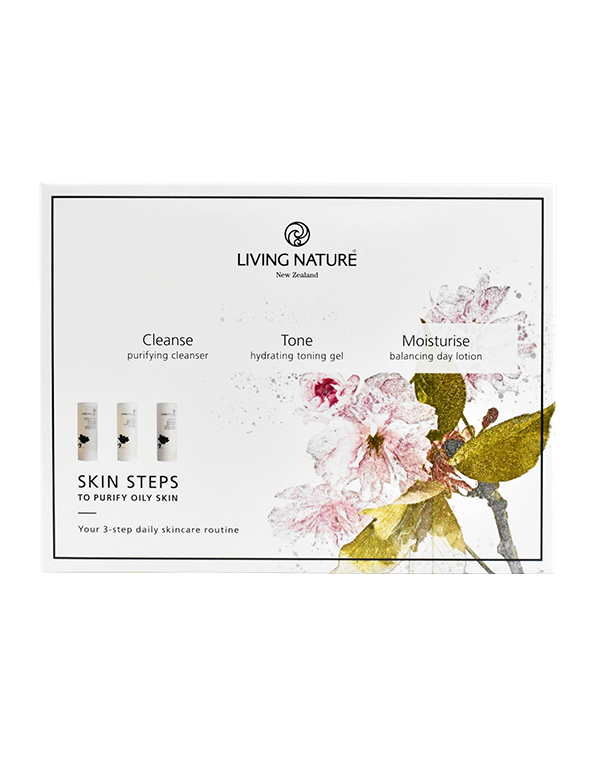 Living Nature Skin Steps to Purify - Oily Skin