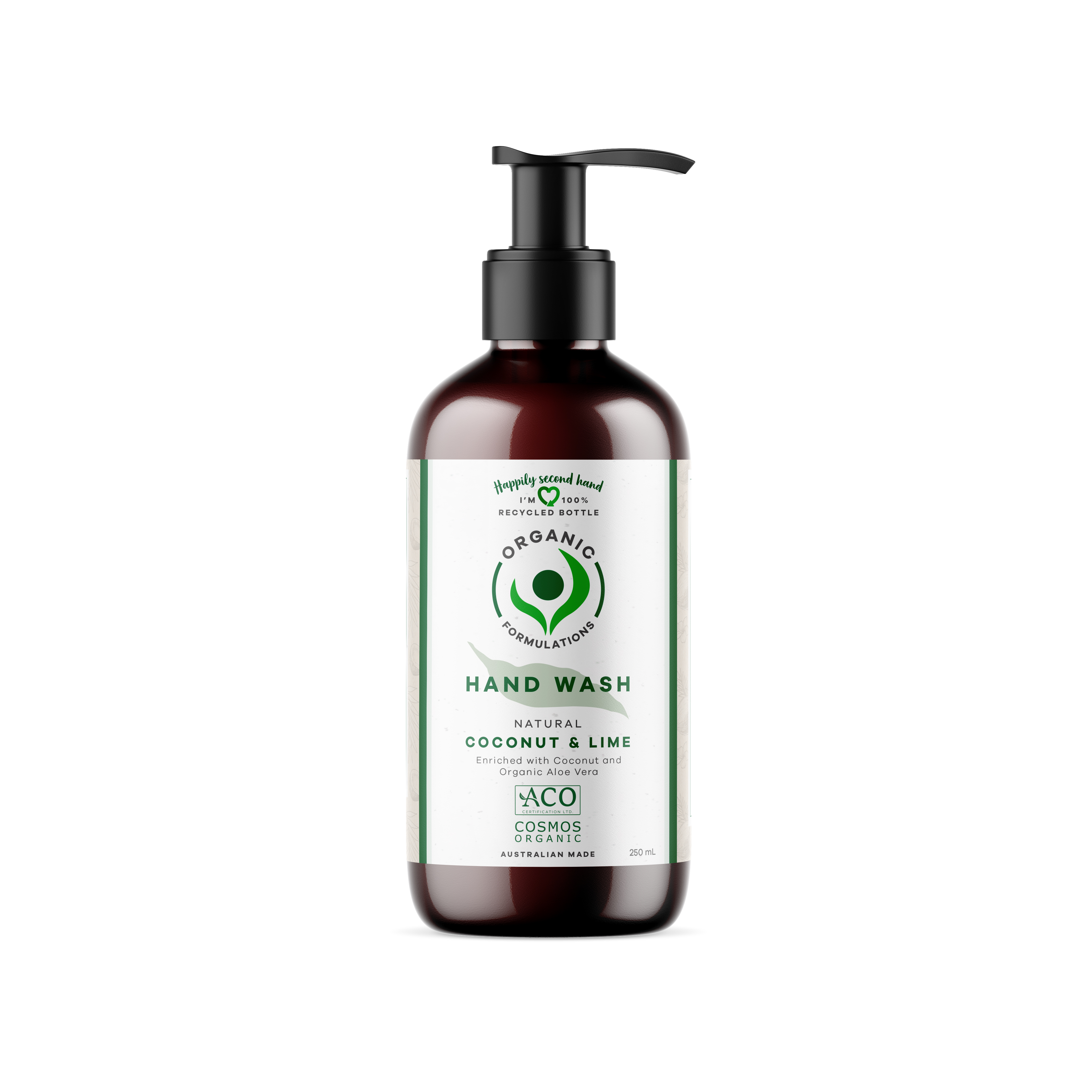 Organic Formulations - Coconut & Lime Hand Wash