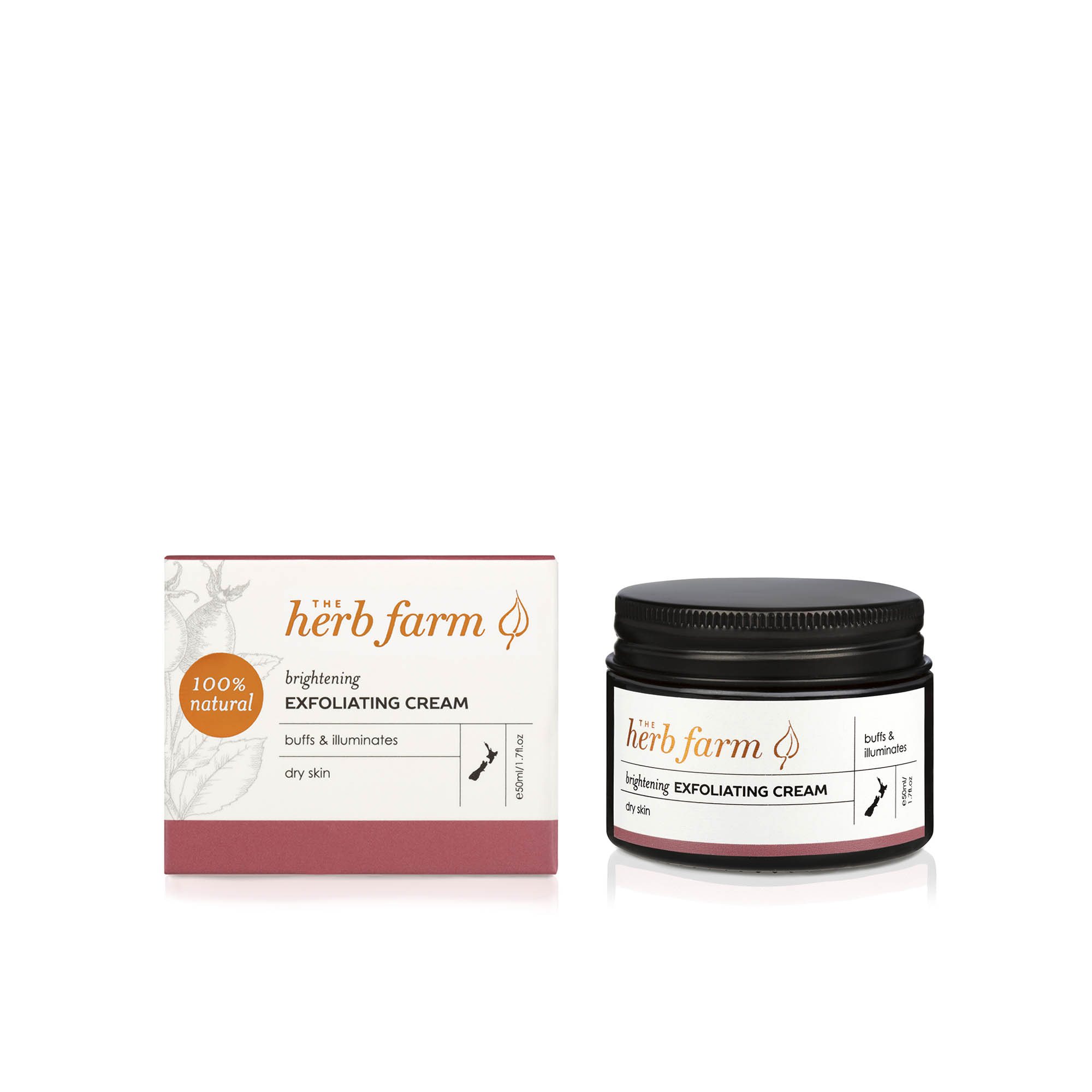 The Herb Farm Brightening Exfoliating Cream