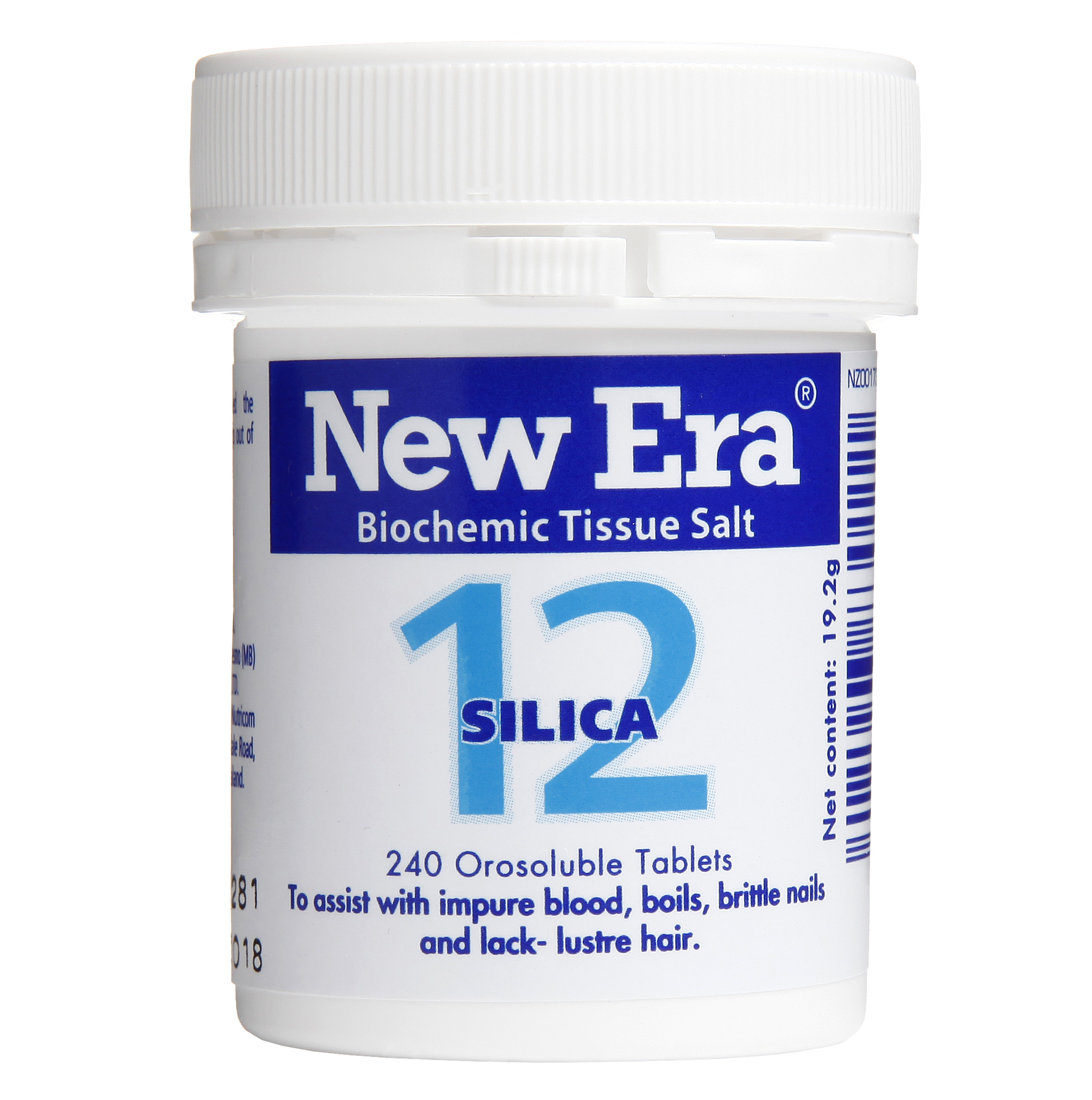New Era No 12 Silica Mineral Cell Salt