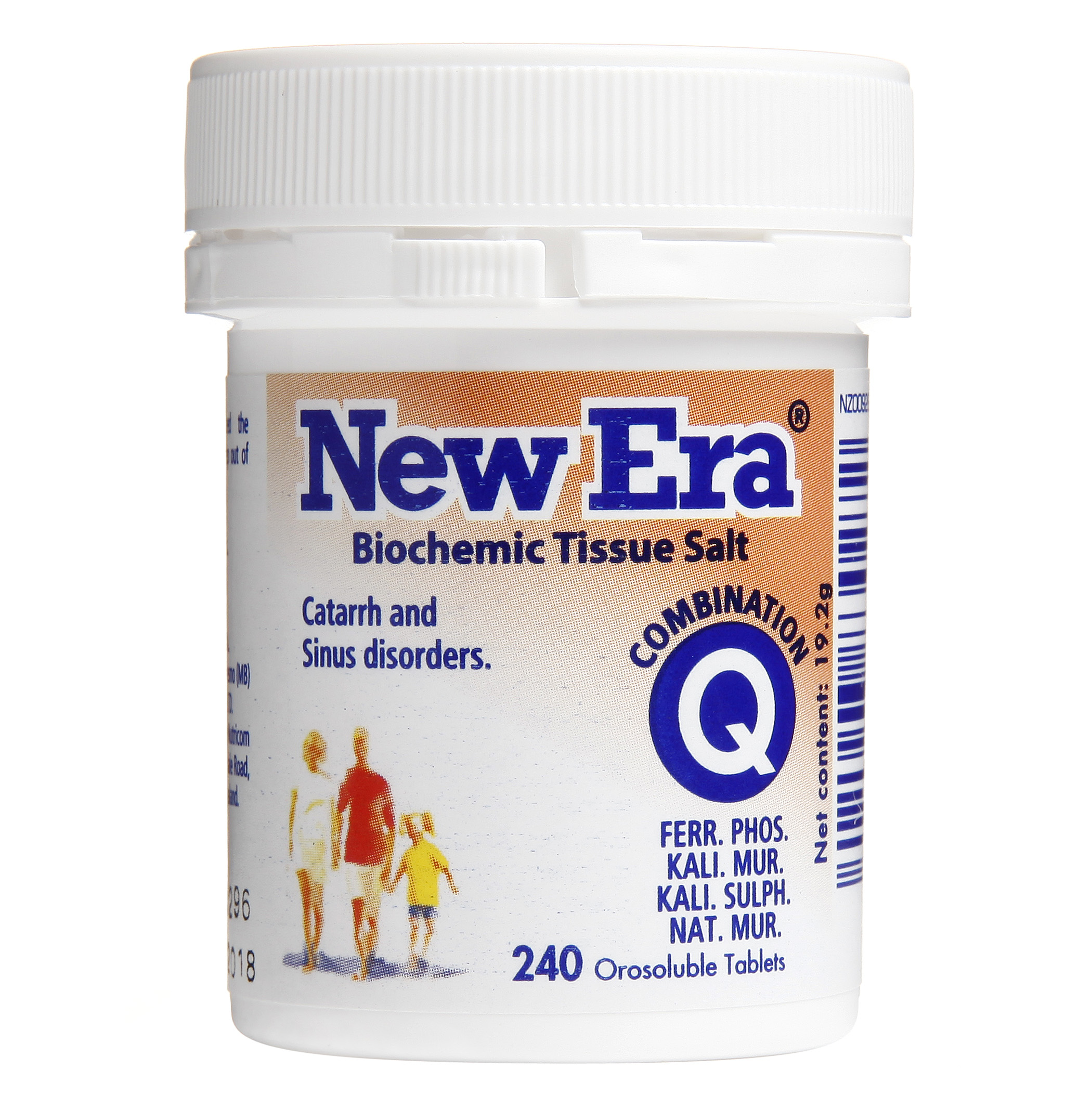 New Era Combination Q Mineral Cell Salts