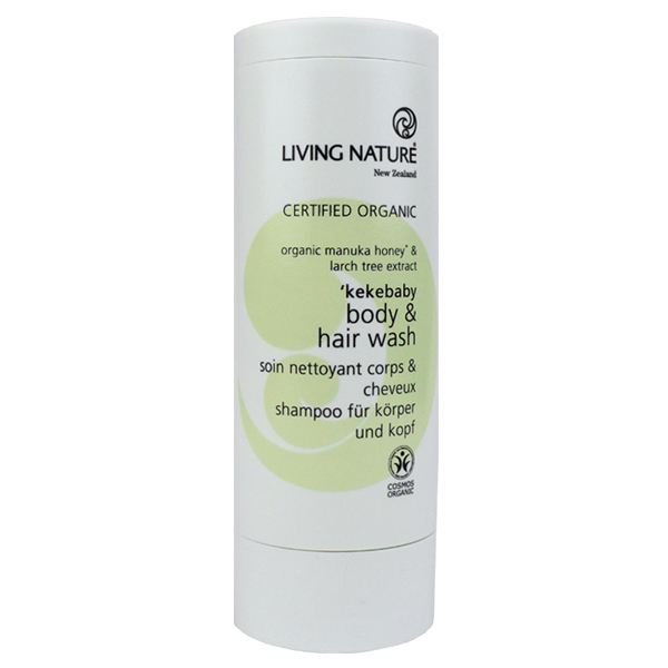 Living Nature 'Kekebaby Body & Hair Wash