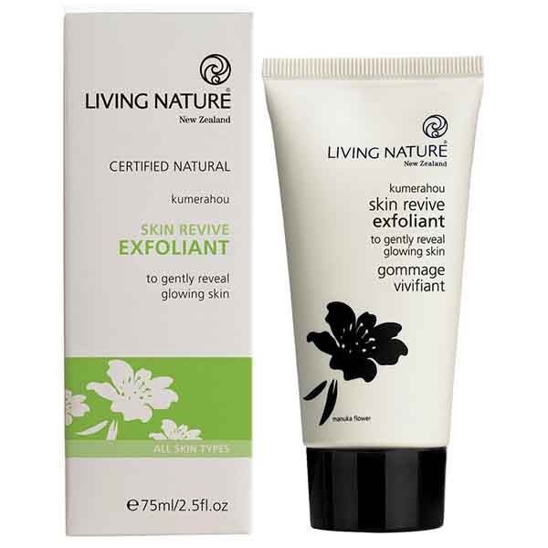 Living Nature Skin Revive Exfoliant