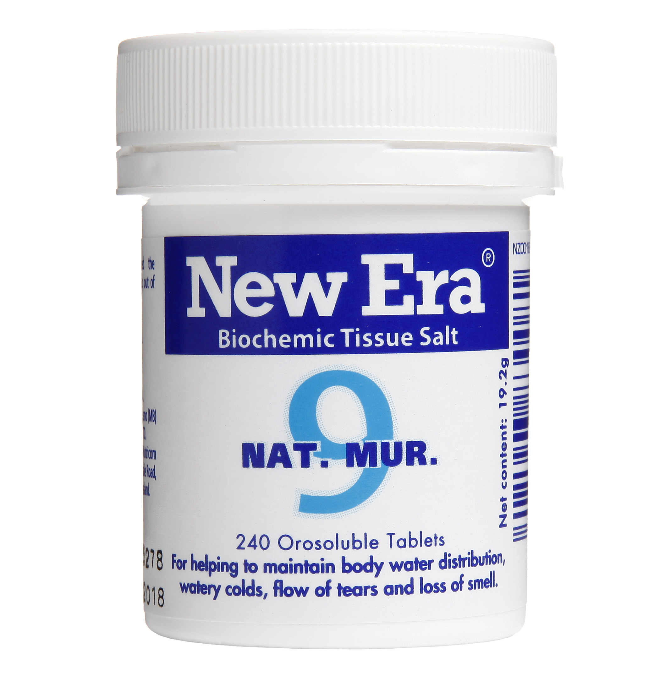 New Era No 9 Nat Mur Mineral Cell Salt