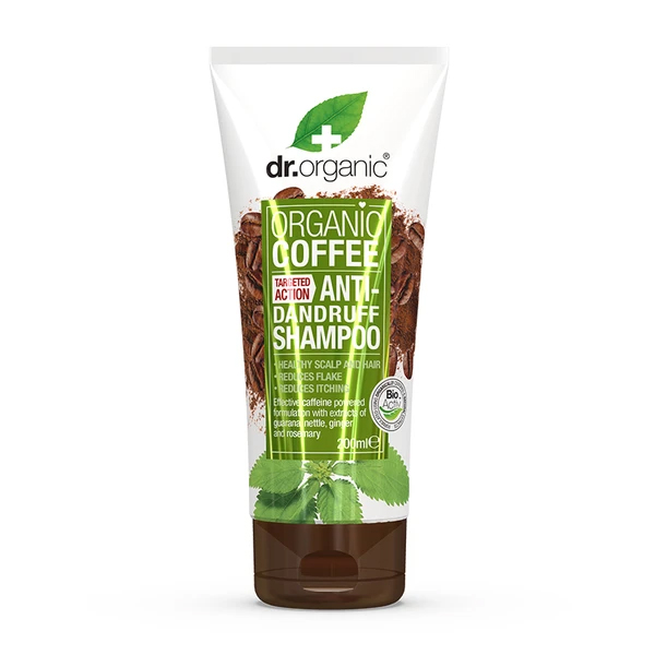 Dr.Organic Coffee Mint Anti-Dandruff Shampoo