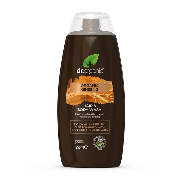 Dr.Organic Ginseng Hair & Body Wash
