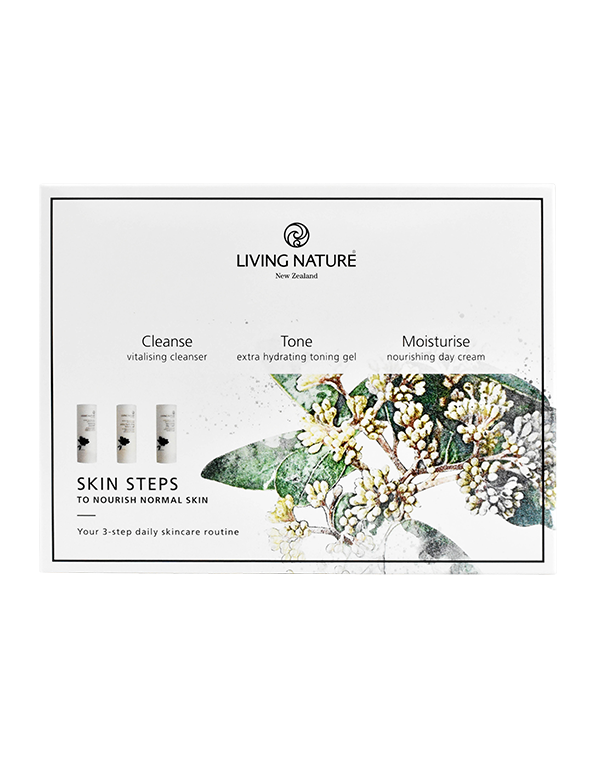 Living Nature Skin Steps to Nourish - Normal Skin
